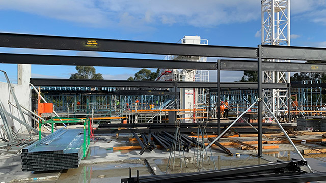 Construction site at Morgan Glen Iris, Camberwell
